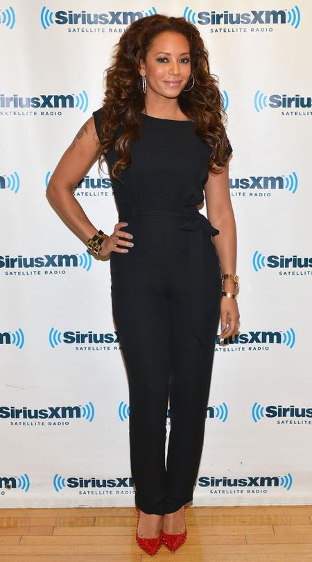 Mel B at SiriusXM radio