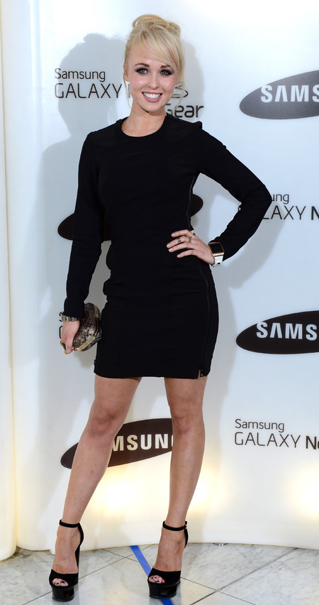 Jorgie Porter at Samsung Party