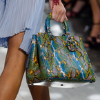 Dior's bold Diorissimo bag at Paris Fashion Week