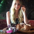 What's in my Handbag: Diana Vickers