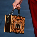 MFW: Dolce & Gabbana's new Sicilian temple box bag