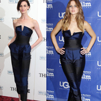 Erin O'Conner vs Jennifer Lawrence in Stella McCartney