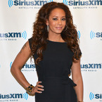 Mel B is sophisticated in textured jumpsuit