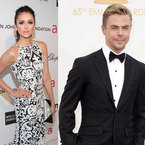 Nina Dobrev dating Cheryl Cole's ex Derek Hough?