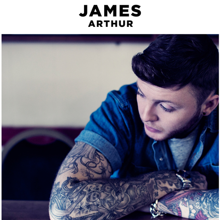James Arthur debut album sleeve