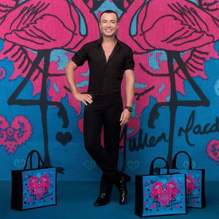 Julien Macdonald Tickled Pink Bag for Life ASDA Breast Cancer Care