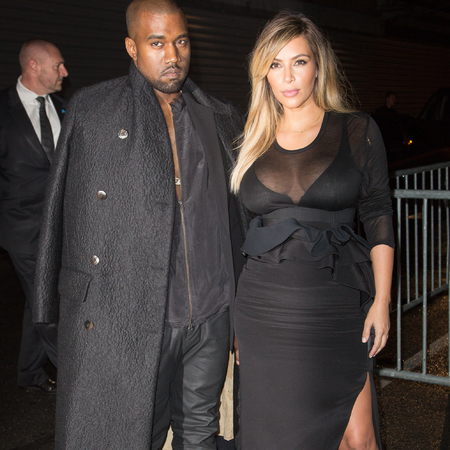 Kanye sent Kim Kardashian a message of his sexy intentions post-bum selfie...