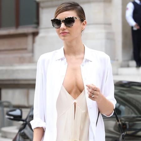 Miranda Kerr at Fashion Week