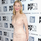Cate Blanchett causes a stir with nude lace dress