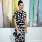 Paris Fashion Week: Katy Perry's florals at Chanel