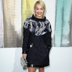 Paris Fashion Week: Rita Ora rocks Chanel feathers