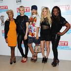 Rita Ora, Jessie J & Ellie Goulding at Unity gig