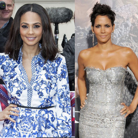 Alesha Dixon and Halle Berry