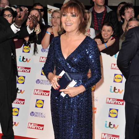 Pride of Britain Awards 2013 Lorraine Kelly blue sequin dress