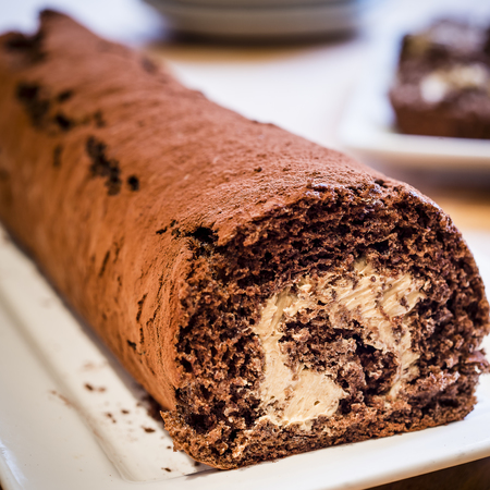 Great British Bake Off winner John Whaite's chocolate Swiss roll recipe