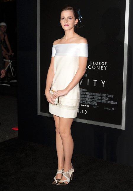 Emma Watson in Chanel dress