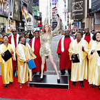 Celine Dion waxwork causes a stir in New York