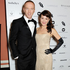 Damien Lewis and Helen McCroy storm BFI red carpet
