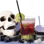 Get spooky with a Witches' Juicy Brew mocktail