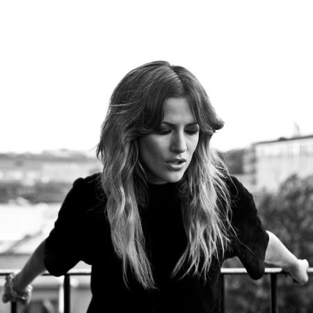 Caroline Flack - TMRW magazine cover shoot - black and white - handbag.com