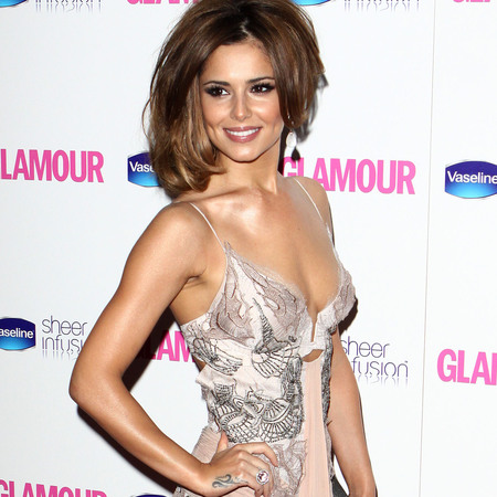 Cheryl Cole wearing Julien Macdonald dress