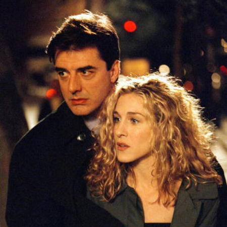 Carrie Bradshaw and Mr Big Sex and the City