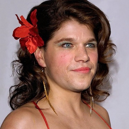 Popular Young Man Dressed Like A Woman  Stock Photo  Elly_l 6992574