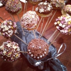 Cheat's cake pops recipe