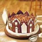 Impressive gingerbread Christmas cake recipe