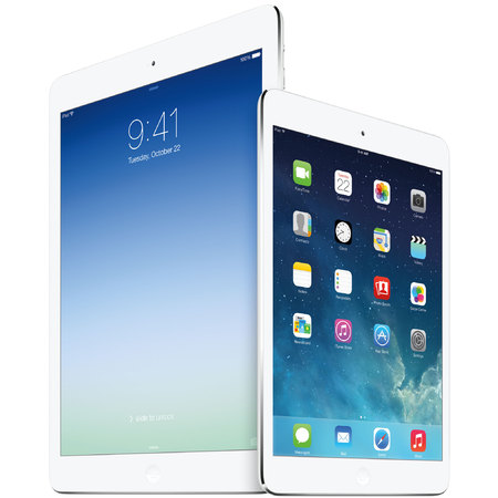 Apple iPad Air in white and iPad mini in white - gadgets - handbag.com