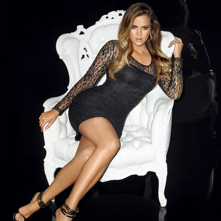 Khloe Kardashian  - Kardashian Kollection for Lipsy - Christmas 2013 - handbag.com