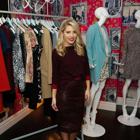 The Saturdays Mollie King - Loved By Mollie Oasis clothing collection - AW13 - handbag.com