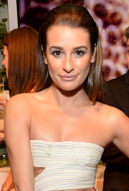 Lea Michele at Women in Hollywood Awards
