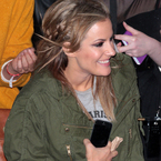 Has Caroline Flack found the ultimate accessory?