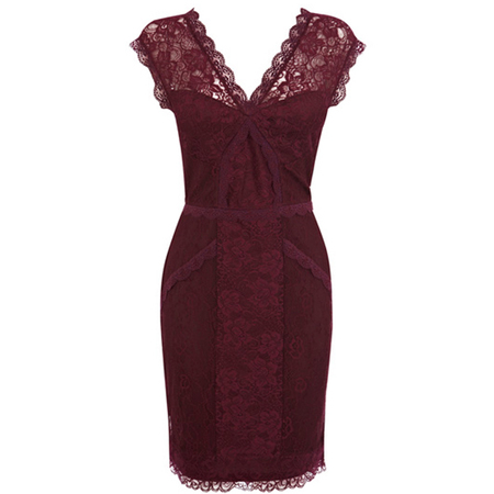 Party Dresses 2013 - red dressesRed Lace Party Dress