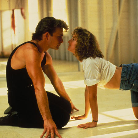 Dirty dancing kissing scene - film - handbag.com