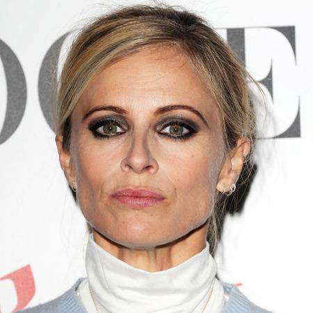 laura bailey - heavy eye makeup - WGSM Global Fashion Awards - handbag.com