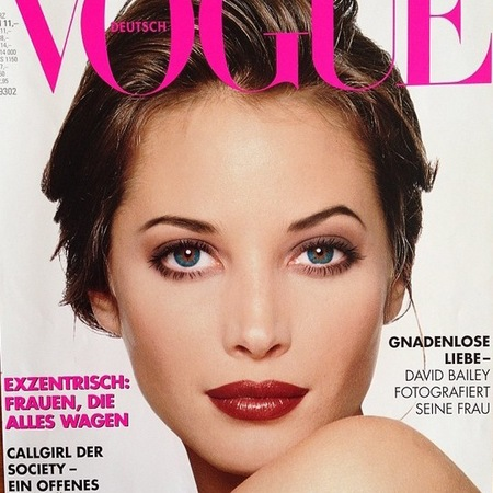 Mary Greenwell - christy turlington - model - no airbrushing - handbag.com