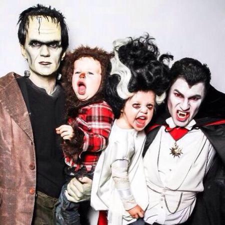 neil patrick harris - halloween - family