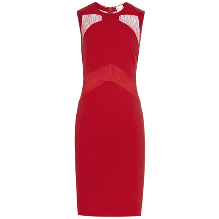 party season - red dress - handbag.com