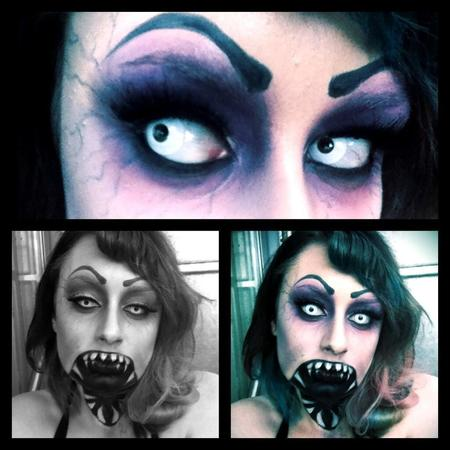 zombie makeup - sophie perry zombiebombshell - makeup artist - halloween makeup ideas - handbag.com