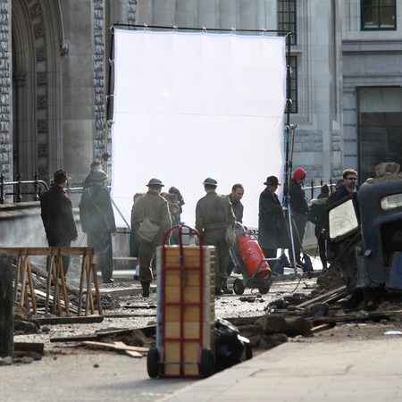 Alan Turing - The Imitation Game - filming