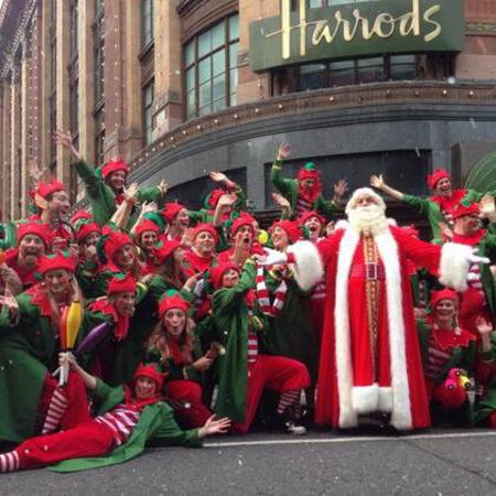 harrods christmas parade - free days out london