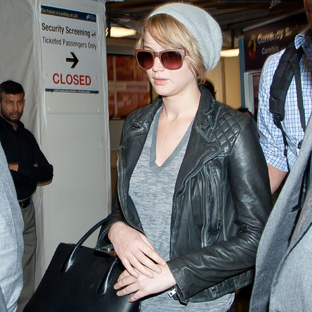 Jennifer Lawrence - new short hair - pixie crop - handbag.com