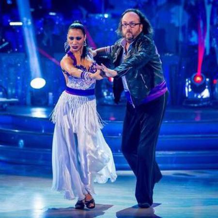 karen hauer and dave hairy bikers - strictly come dancing