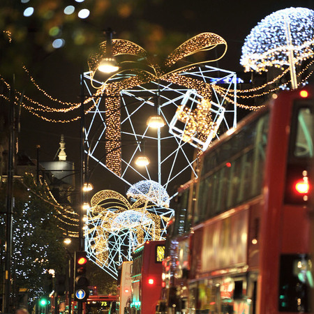 oxford street christmas lights - free days out london