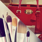 Trade in your make-up for a designer handbag