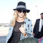 Rosie Huntington Whiteley loves Givenchy
