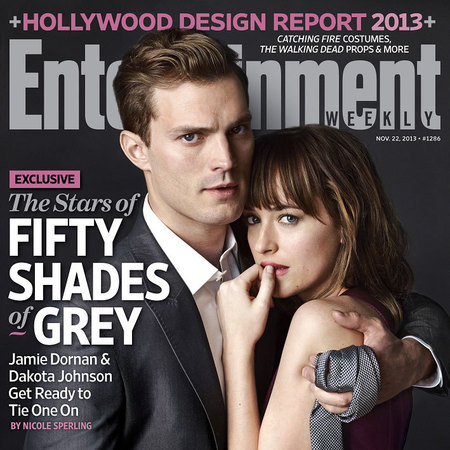 Christian Grey and Ana Steele Fifty Shades cast photos