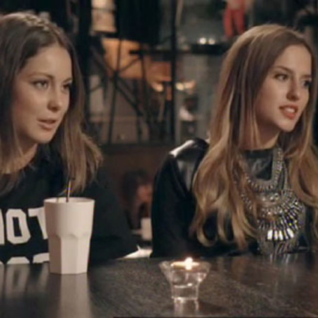 Lucy watson and Louise Thompson - friends - made in chelsea - series 6 - handbag.com